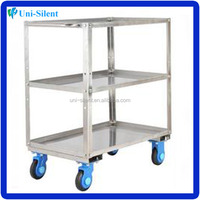 304 stainless steel meat cart
