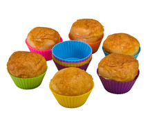 Alibaba China Non-stick easy demold Silicone frozen party cupcake