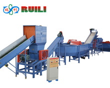 High efficiency PE PP waste plastic recycling machine/film washing line