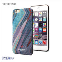 2016 12colors Simulation Wooden Grain TPU Mobile Phone Case Cover for iphone 6/6s