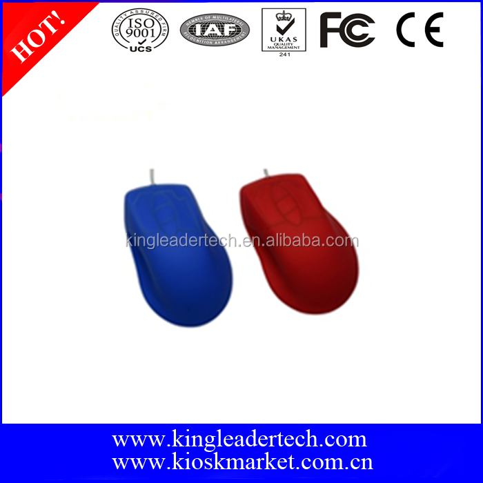 Washable IP68 Silicone Optical Mouse