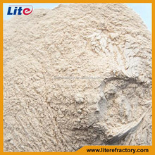 Manufacture High temperature high alumina fireproof mortars for fire brick