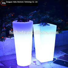 LED Vase round plastic flower pot liners made in China