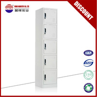 Hot selling 5 door metal locker / small metal stroage locker / 5 tier metal locker