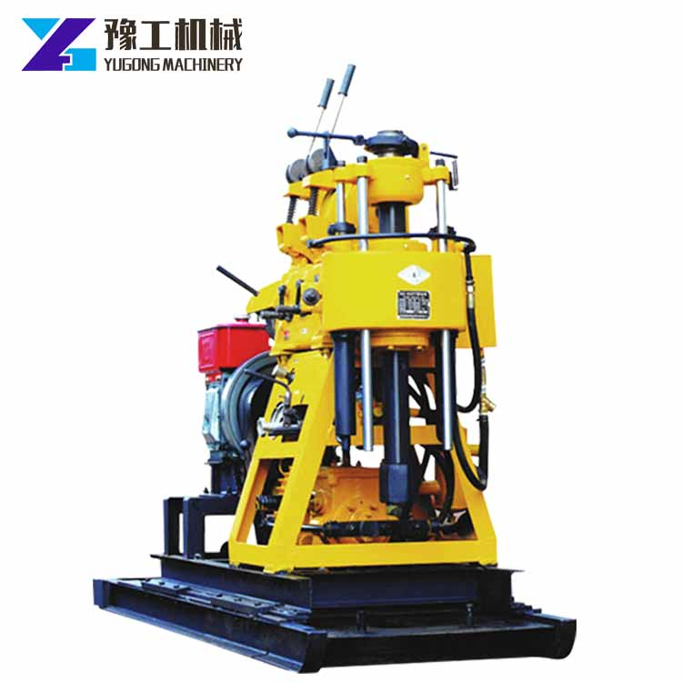 YG 200m Water Well Rotary Drilling Rig Hydraulic Mining Core Drill Machine