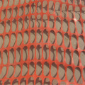 plastic orange safety barrier net