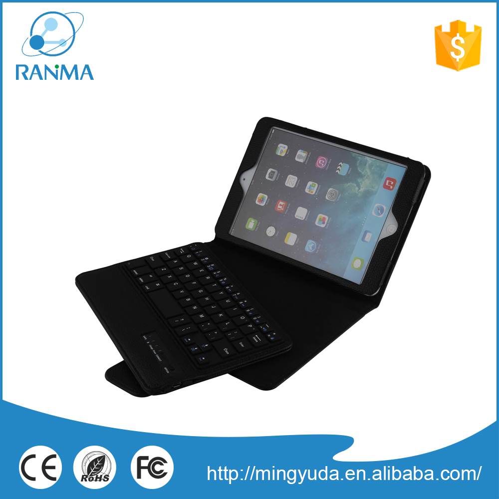 Made In China leather protector bluetooth stand keyboard case for ipad mini 2