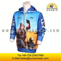 Custom sublimation sports fleece hoody sports hoodies
