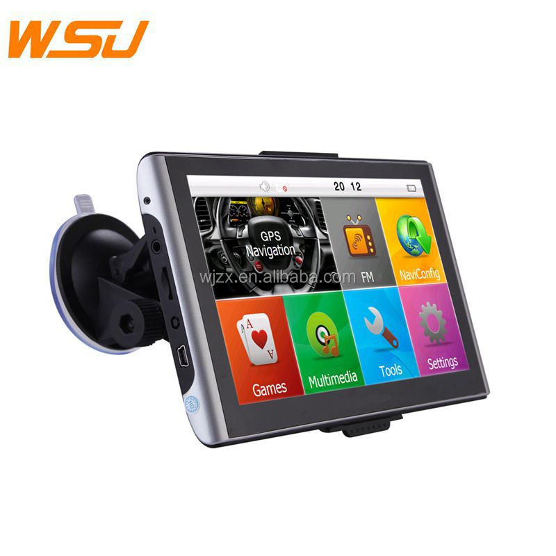 Super Cheap 7inch SAT NAV Maps with Bluetooth Car GPS Tracking GPS Navigation System