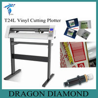 cutter plotter a4 size/flatbed cutting plotter T-24L