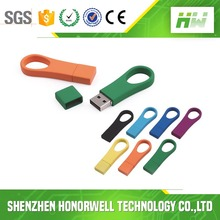 Wholesale Ring U Disk USB Flash Drive Bulk 1GB 4GB Cheap For Promotional Gift