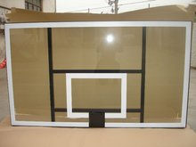 All Alumimum Frame Tempered Insulation Glass Basketball Backboard