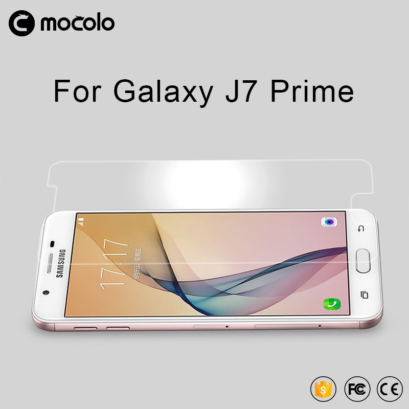 2017 Black silk Screen Protectors Tempered Glass Protective film for SamSung Galaxy J7 prime protective eye screen guard film