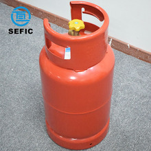 Valves Equipped Portable Empty Cooking LPG Cylinder LPG Bottle Cooking Gas