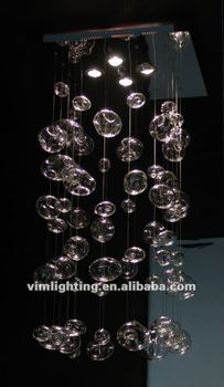 Modern square murano glass bubble chandelier md 2615 4f view modern square murano glass bubble chandelier md 2615 4f mozeypictures Image collections