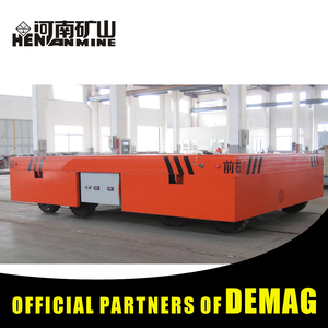 Metal Industry Busbar Power Transfer Truck On Rails For Workshops Transfer