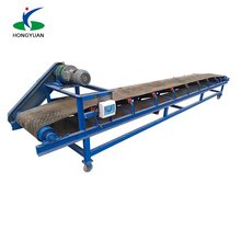 High quality inclined rubber mobile belt conveyors