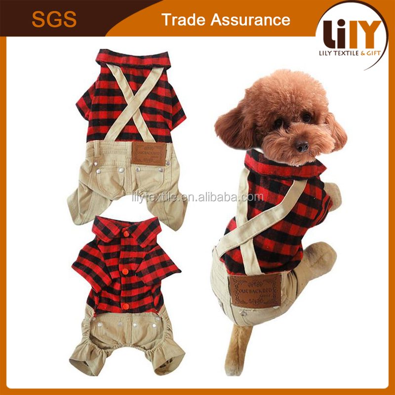 mini dog cosplay new style shirt overalls for wholesale