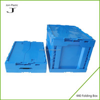 2015 new product folding corrugated plastic reusable box