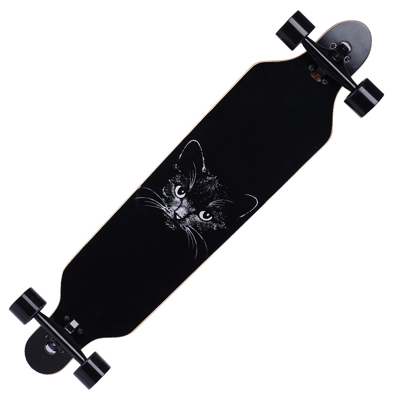 Longboard cheap price Free style maple longboard china manufacturer
