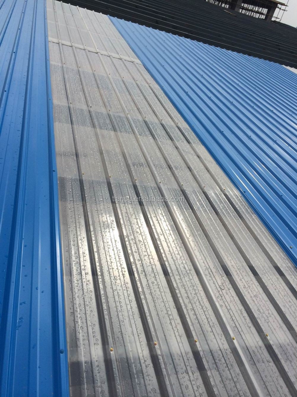 10 Years Colored Polycarbonate Corruaged Sheet roof/canopy