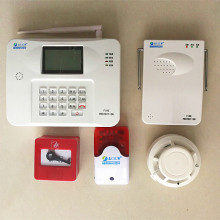 wireless addressable conventional fire alarm system gsm detection