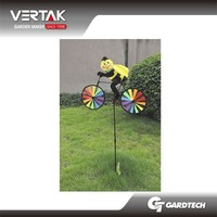 Good services cheap garden bike toy pinwheel windmill for sell