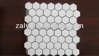 92% Alumina Ceramic Hexagonal Mosaic Tile