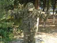 Ghillie Suit-001 TuYe Wholesale Four Parts Woodland Breathable Ghillie Suits