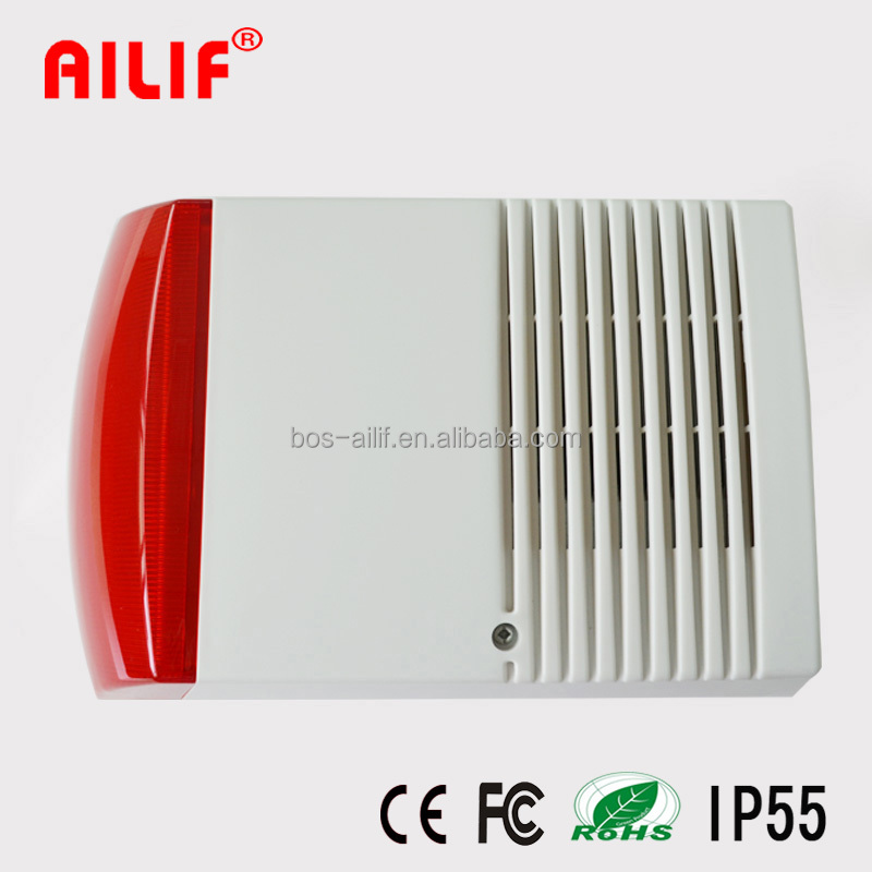 China Manufacturer Loud Outdoor Siren And Strobe Light