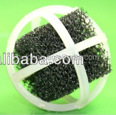Plastic Bio Balls with Sponge for fish pond