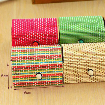 Square  boxes gift boxes with natural bamboo