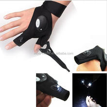 New design Car repair lighting gloves / Outdoor Night Fishing lighting gloves / cycling line repair LED flashlight