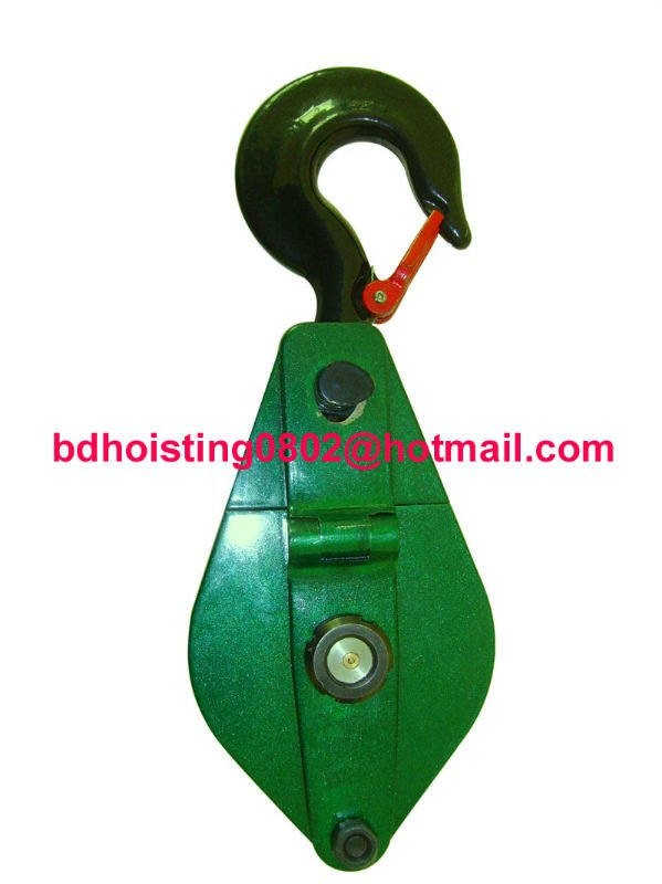 Pulley Block-10T/lifting trolley/weight liftng trolley