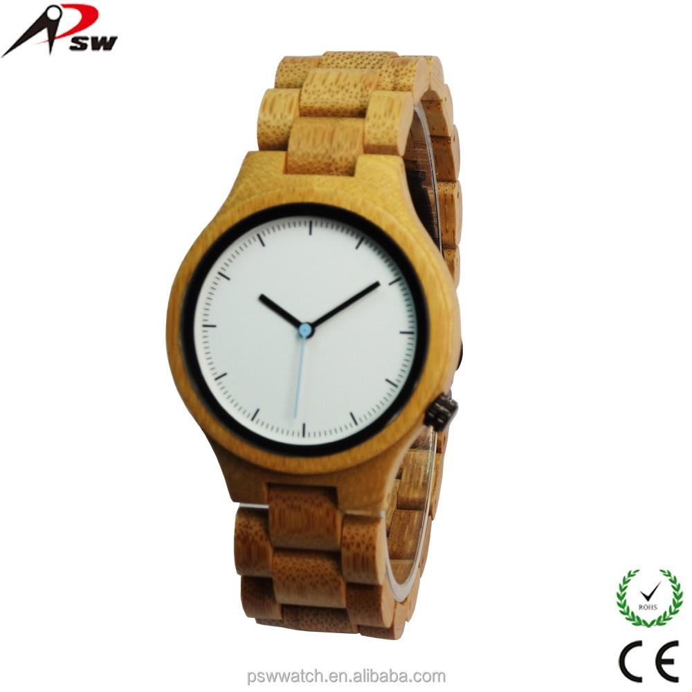 Japan quartz custom logo wood watches wholesale bamboo pearl watch