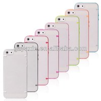 Protect Mobile Case For Apple iPhone 5S Bumper / Transparent Cover Case For iPhone 5S Clear Case Cheap Price High Quality