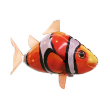 Wholesale remote control radio control inflatable flying shark and clownfish