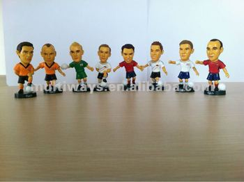 OEM Plastic Football Figure/Soccer Figure(MW-PT663)