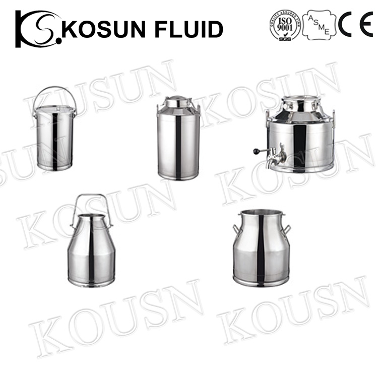 Stainless steel food pharmacy grade milk ice polished flask