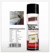 aeropak removable liquid adhesive for clothing