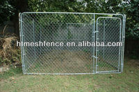 Outdoor Chainlink Dog kennel 10' x 10' x 6' 32mm OD pipe* 1mm