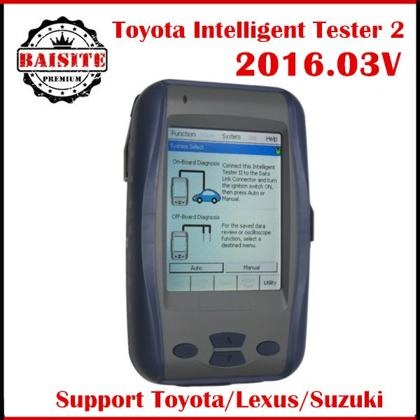 Professional auto car diagnsotic tool Toyota denso Intelligent Tester 2 tester ii tester-2 supports all Toyota/Lexus model