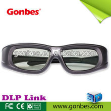 3d glasses for BenQ MP777, viewsonic PJD6531 projector, USB rechargeable