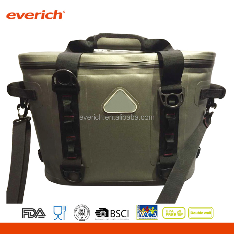 best selling 840TPU waterproof outdoor bag 30QT softsided insulated cooler box