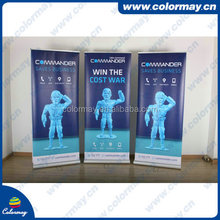 cost effective advertising tabletop roll up banner