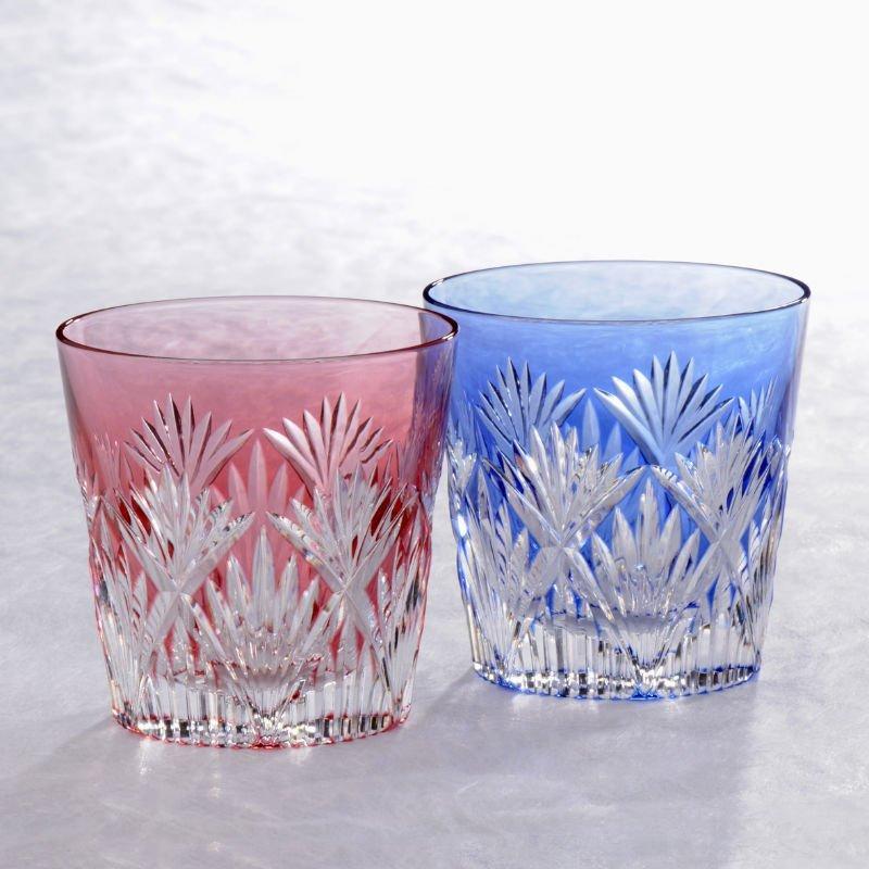 japonaise edo kiriko verre de froid souci paire stocks