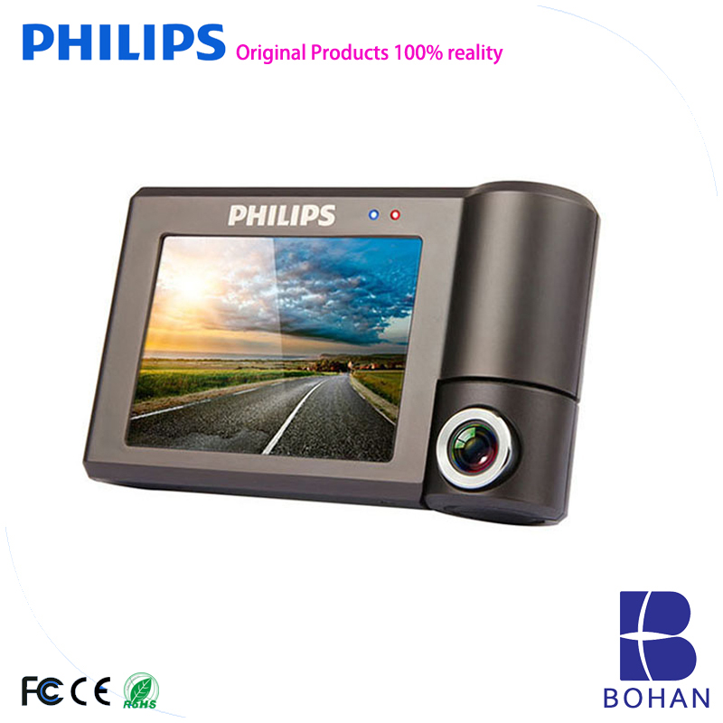 PHILIPS 1080P Full HD Vehicle Blackbox Dvr User Manual 360 Degree Camera 3''