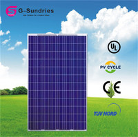 Factory directly sale 250w poly solar panel panel solar roll