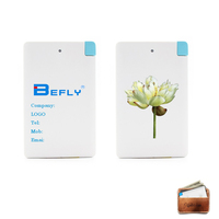 credit card power bank 2500mAh power bank slim power bank