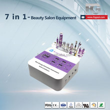 2017 Salon popular use 7 in 1 portable beauty firming skin machine